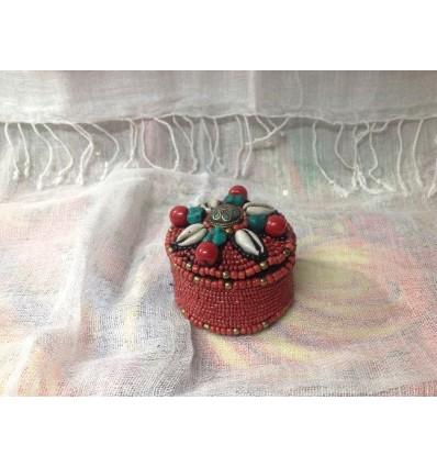 Boite décoration Tibétaine